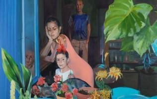מאיה ישראל, דיוקן משפחתי, טנדו בצלאל,  צילום יעקב ישראל