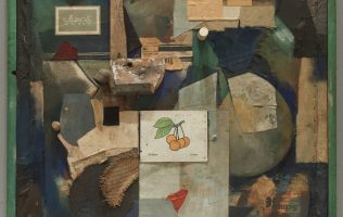 Kurt Schwitters, Merz Picture 32A, The Cherry Picture, 1921